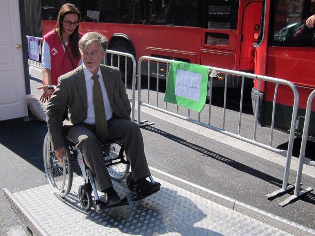El alcalde Santisteve en la Semana Europea de la Movilidad