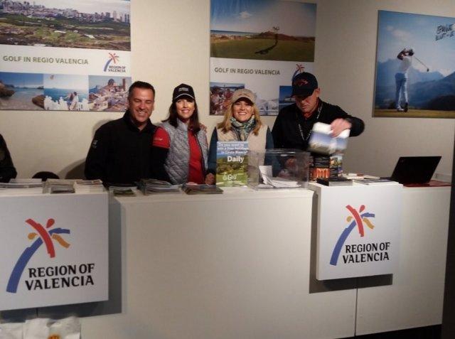 Feria de golf en Holanda