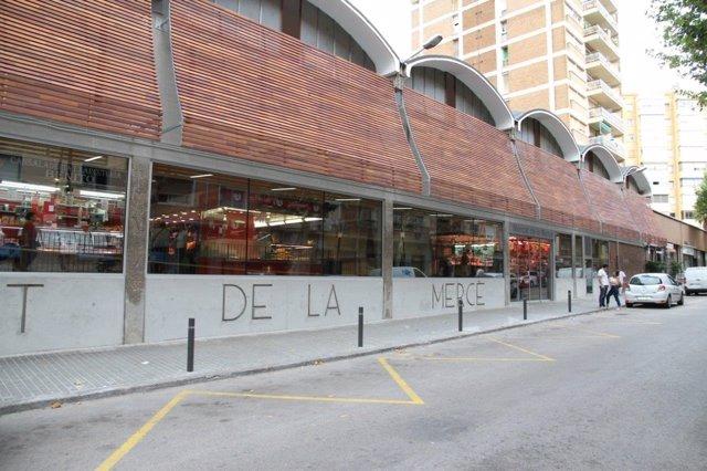 Mercat de la Mercè, en Barcelona