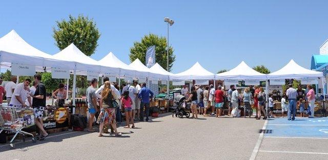 Feria de proximidad de Caprabo