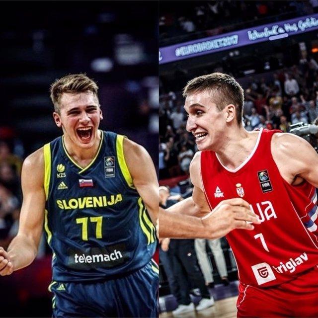 Doncic y Bogdanovic