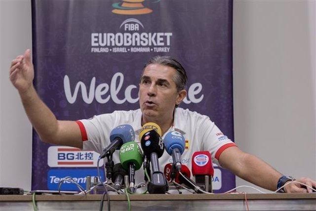 Sergio Scariolo en el Eurobasket