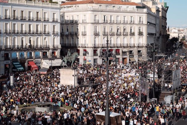 Manifestación de PACMA contra la tauromaquia en Madrid
