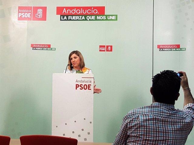 Irene García, secretaria provincial del PSOE de Cádiz