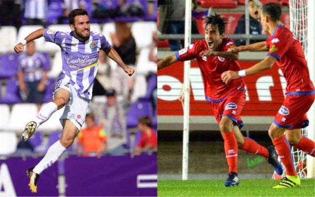 Valladolid y Numancia se sitúan colíderes de Segunda