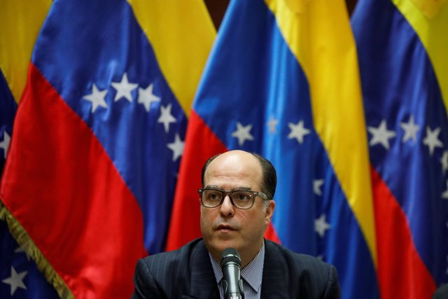 Julio Borges, president of the National Assembly and lawmaker of the Venezuelan