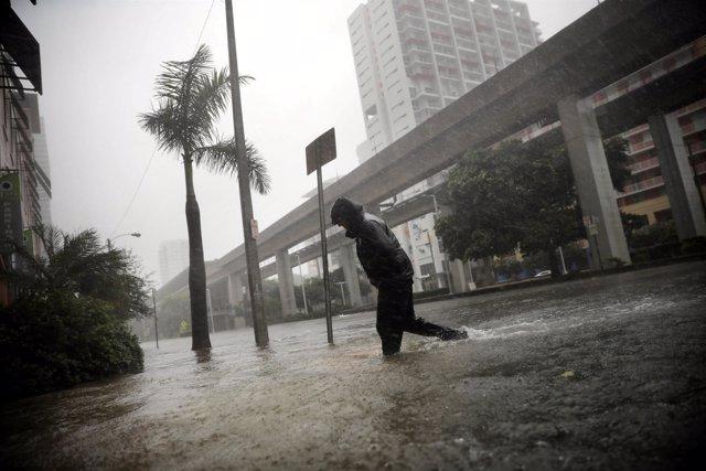Miami azotada por el huracán 'Irma'