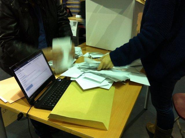Recuento de votos del 9N en Catalunya