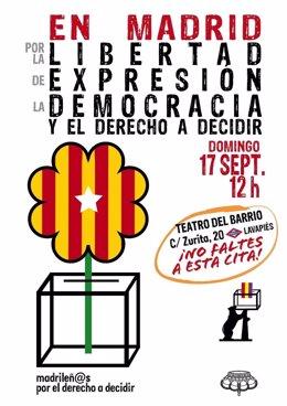 En Madrid por la libertad de expresión