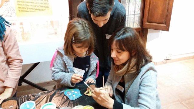 El Programa 'Museos en Familia' ofrece un espacio para el ocio y la cultura.