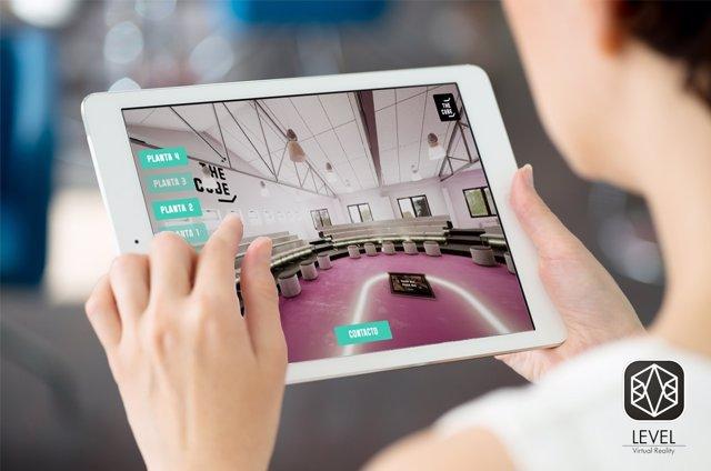Palencia. Imagen de una de las aplicaciones de VR-Level