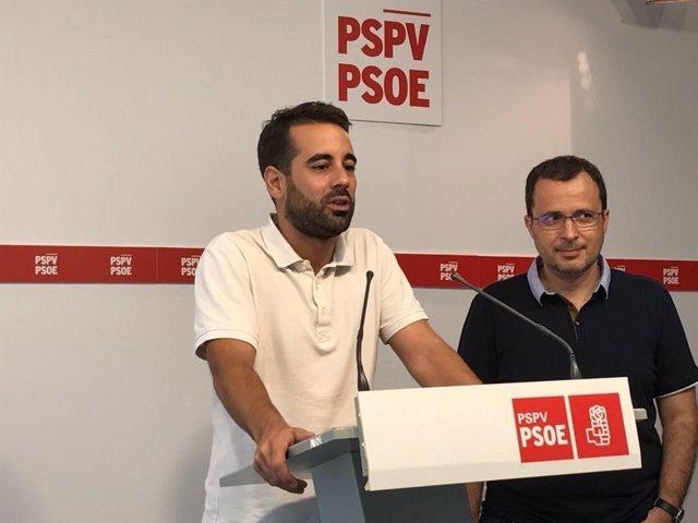 José Muños y Julián López