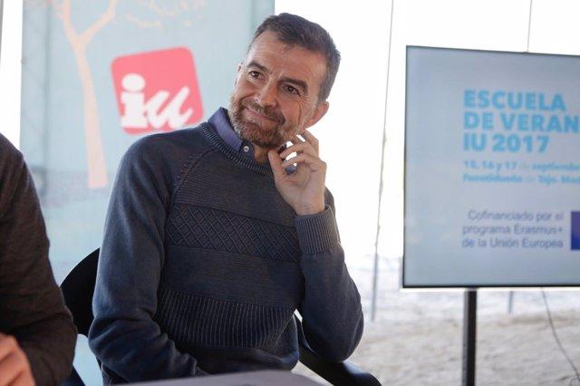 Antonio Maíllo en la Escuela de IU Federal