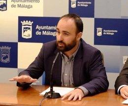 Mario Cortés,  concejal de Seguridad en el Ayuntamiento de Málaga