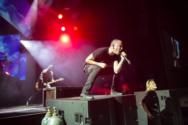 September 19, 2014 - Sep 19, 2014 - Concord, California, USA - Linkin Park (Ches