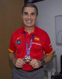 Sergio Scariolo, con el bronce en el Campeonato de Europa de 2017