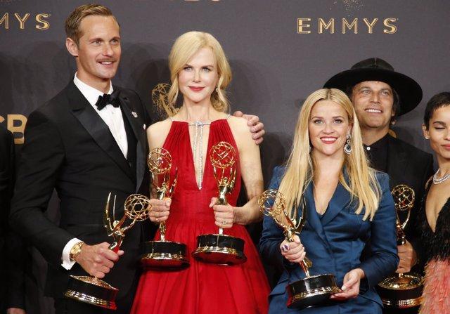 69Th Primetime Emmy Awards – Photo Room – Los Angeles, California, U.S., 17/09/2