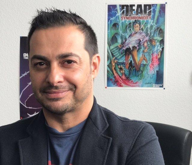 Luis Quintans, presidente de la asociación DEV