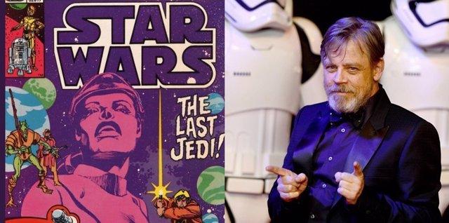Mark Hamill avisa de spoilers en un cómic de Star Wars