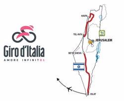 El Giro d'Itàlia del 2018 sortirà de Jerusalem i tindrà tres etapes a Israel (RCS SPORT)