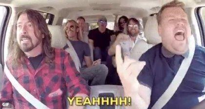 Foo Fighters han grabado un Carpool Karaoke con James Corden