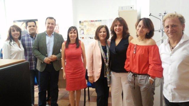 La consejera de Igualdad y Políticas Sociales en Las Gabias