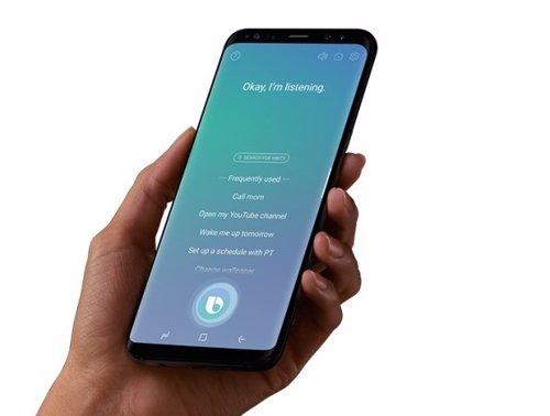 Samsung Bixby galaxy S8 S8+ asistente virtual de voz
