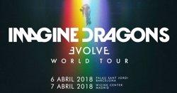 Imagine Dragons presentaran el seu últim disc a Barcelona el 6 d'abril (LIVE NATION)