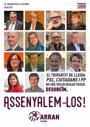 Concejales del PP, PSC y C's denuncian un cartel de Arran con el lema 'Señalémosles'
