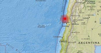 Un sismo de 5,9 grados sacude a Chile