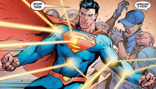 Superman defiende inmigrantes ilegales