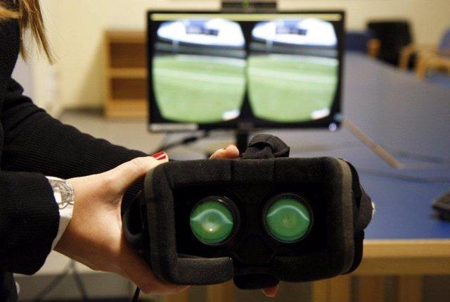 Sistema de realidad virtual para la rehabilitación motora del hombro