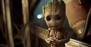 Primera (y triste) imagen de Groot en Vengadores: Infinity War
