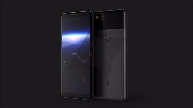 Posible diseño de Google Pixel XL 2017