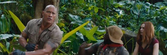 Dwayne Johnson contra la furia de la jungla en el nuevo teaser de Jumanji 2 (SONY)
