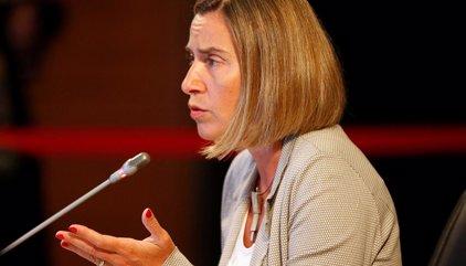 """Mogherini dice que la expulsión de España del embajador norcoreano ha sido una decisión """"nacional"""""""