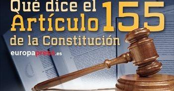 ¿Qué es el artículo 155 de la Constitución y qué implica para Cataluña?