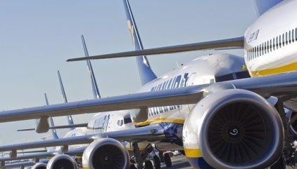 Ryanair cancela 690 vuelos desde hoy al 28 de octubre, de ellos 126 en España