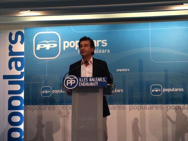 Company (PP) pide la dimisión de Abril por calificar de 'neofascista' la cumbre del PP en la participará Rajoy