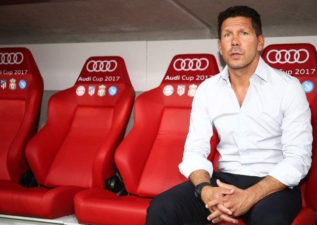 El tècnic de l'Atlètic de Madrid, Diego Pablo Simeone
