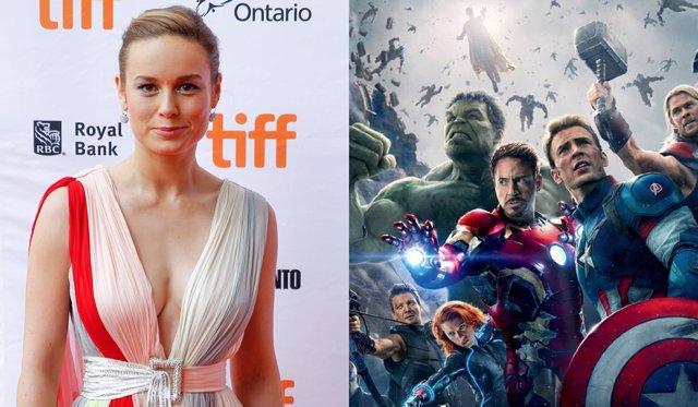 Brie Larson y 'Vengadores: La era de Ultrón'