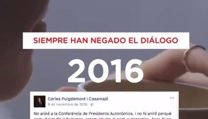 """El PP lanza una campaña en Twitter para """"desmontar"""" las """"mentiras"""" de los independentistas"""