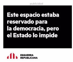 ERC llança una campanya per criticar que l'Estat