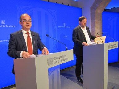 """El Govern recorre la querella de Fiscalia perquè convocar l'1-O """"no és delicte"""" (Europa Press)"""