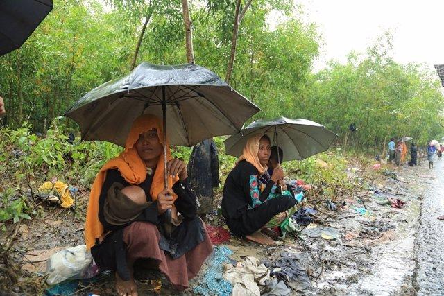 Refugiados rohingyas en Bangladesh (SHABIR HUSSAIN/WORLD VISION)