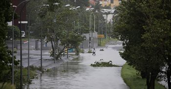 El huracán 'María' pasa por Martinica sin causar daños importantes