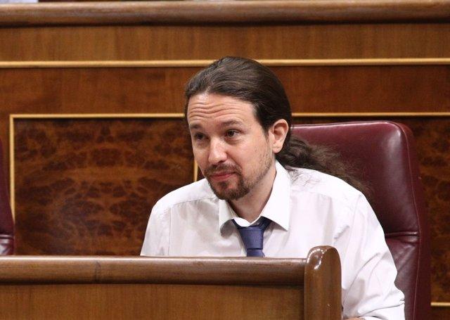 Pablo Iglesias, secretari general de Podem