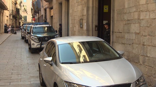 Registros en la empresa de aguas de Girona por la Guardia Civil
