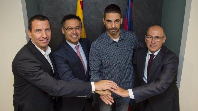 Juan Carlos Navarro renueva con el Barcelona