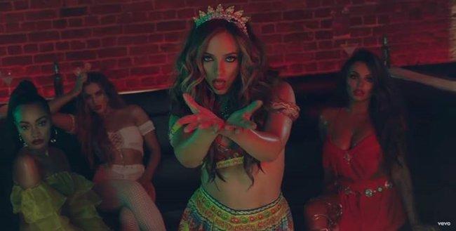 El Reggaetón lento de Little Mix y CNCO ya tiene sugerente videoclip (SONY MUSIC)